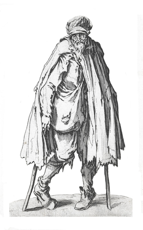 Der Bettler - Callot